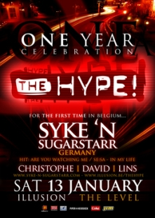 The Hype - One year celebration