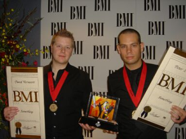 Peter Luts and Dave McCullen at the BMI Awards