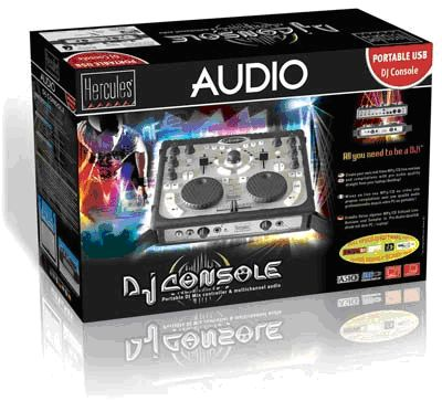 Hercules DJ Console review