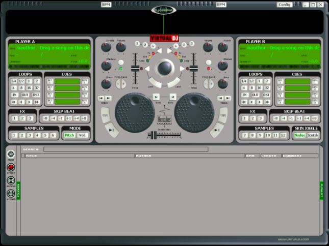Record your mix with Virtual DJ